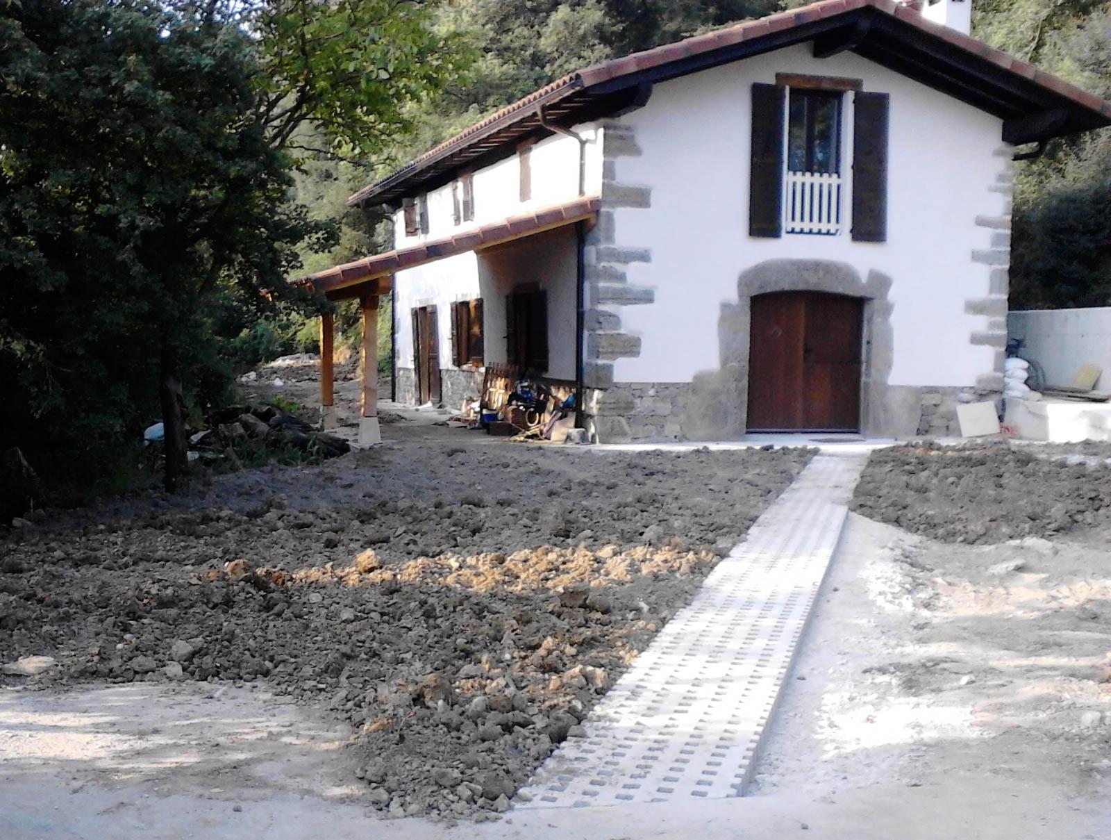 Rehabilitación Olagüe Casa Rural