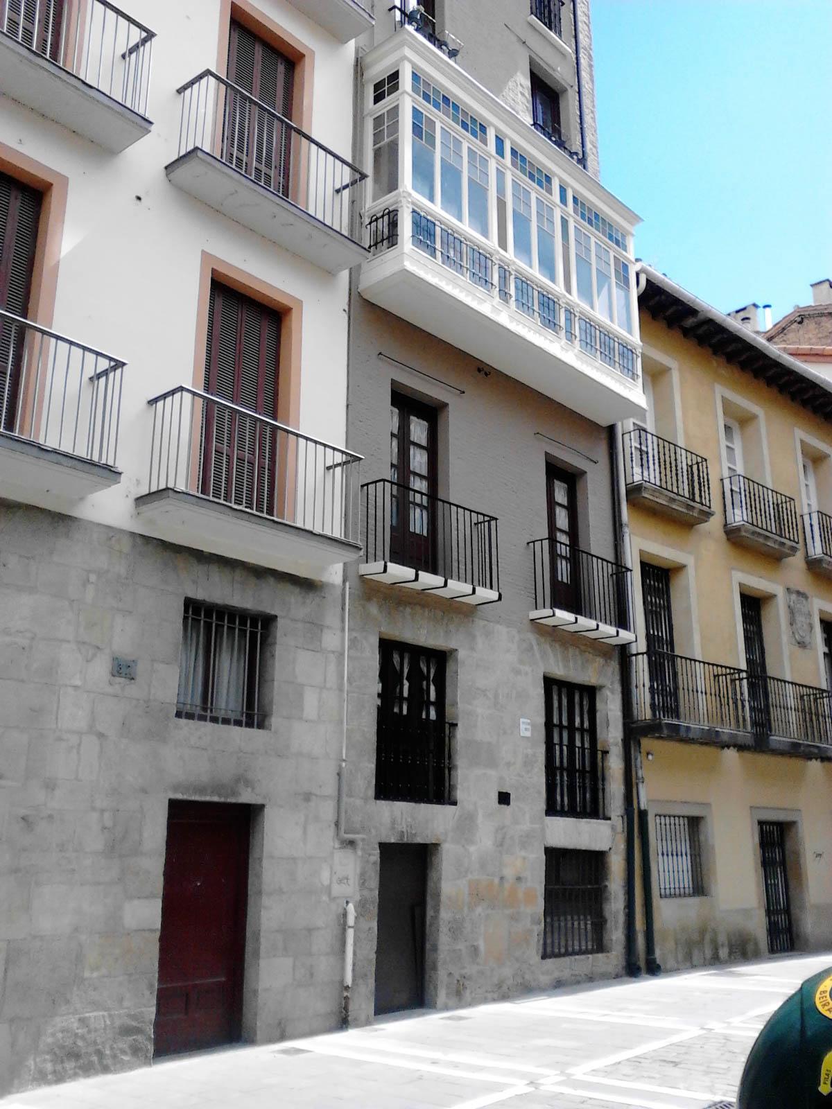 Rehabilitación Pamplona Calle Zapateria