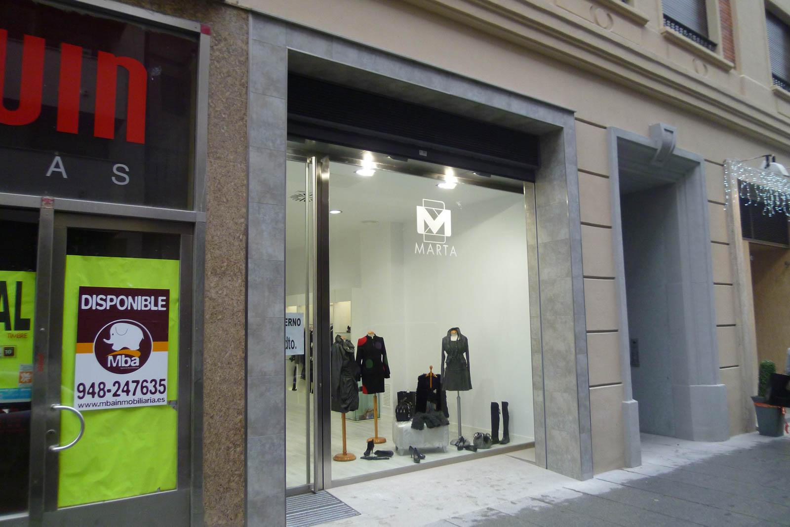 Mantenimiento Tienda Marta
